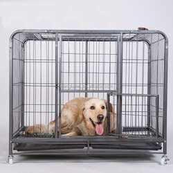 Stainless steel square tube dog cage
