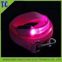 Pet Product Super Bright LED Flashing Light dog collar & leash, led pet leash