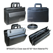 2014 new products design waterproof pu leather mens document briefcase hand bags