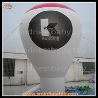 Customized logo printed giant inflatable ground balloon for advertising to sale