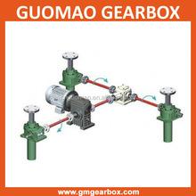 For lifting platform manual or electric worm gear mechanical screw jack mechanism