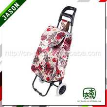 foldable luggage cart cotton cloth tote bags
