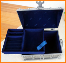 European classical wedding gifts pirate treasure chest with lock princess jewelry box zinc alloy 640 / 7P