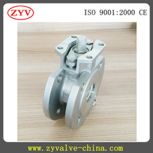 Italy type thin type wafer connection ball valve
