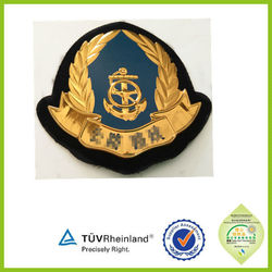 crest iron on high frequency army badge for military uniform