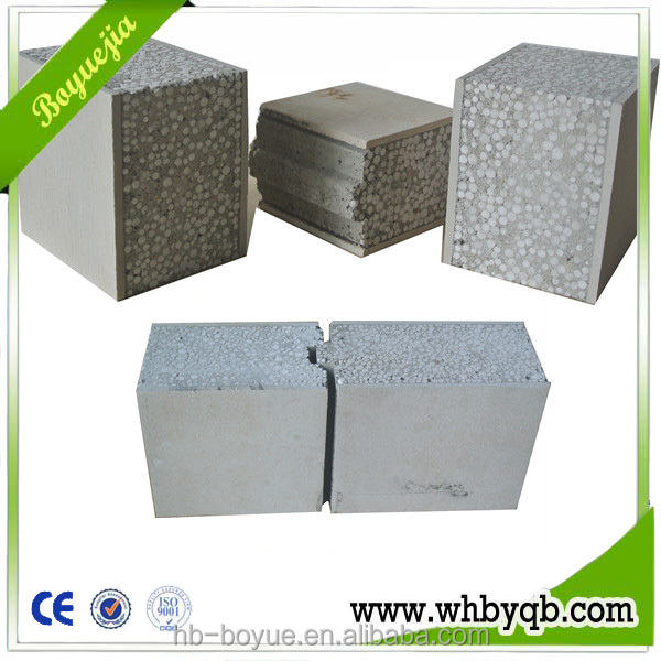 Foam concrete block for eps concrete sandwich panel 1 4 for Foam block wall construction