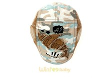 Newsboy Beret Flat Cap Hat Cabbie Camo Military Army for baby kids infant