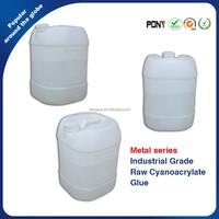 Super Bulk Ethyl Cyanoacrylate Adhesive Raw Glue For Metal Substrates