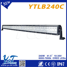 Y&T240w 41.5 inch 10%discount led lights disposable led lights for offroad ATV 4x4 truck