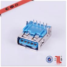 super speed 3.0 usb connector am to af male new product brass connector 3.0 usb connector price