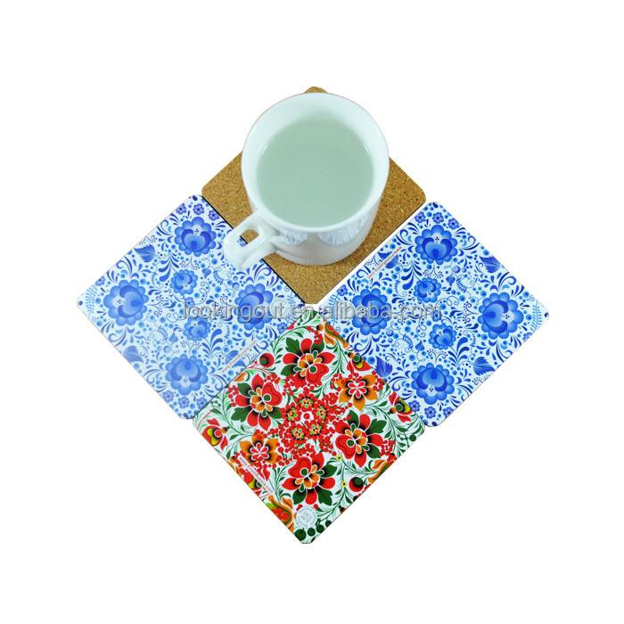 logos customizing printing cardboard paper coaster