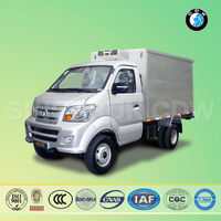 Chinese sinotruk box mail truck stainless steel truck milk tank for sale