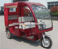60v newest electric tricycle for passager with powful motor