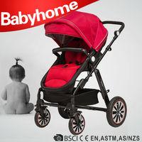EN1888 CE approved warm air wheel baby pram 3 in 1 baby strollers motorized baby stroller