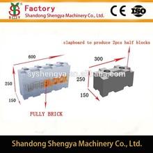 China factory directly provide manual lowest prices liteblock mould, CLC block mould, foam block mould