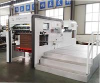 1100x780mm Pizza box carton semi automatic die cutting and machine