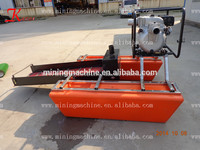 China river used gold dredge