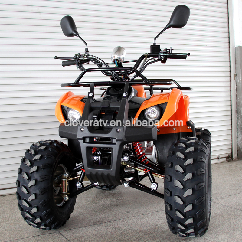 Four Stroke Air Cooled Quad Bike 110cc 125cc ATV with Mirror