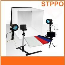 prodotto in vendita calda di alta qualità cubo foto studio luce kit tenda