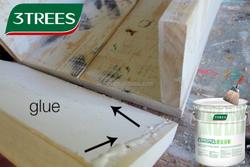 3TREES Hot Sell Advanced Wallpaper Adhesive White Latex Glue