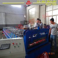 HT High Rib Color Steel,Ppgi Roof Sheet Roll Forming Machine For Building Material,China Manufacture