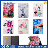 Butterfly Flower Eiffel Tower Stand Flip Cover Case for Samsung Galaxy Tab S2 9.7 T810 Tablet Covers