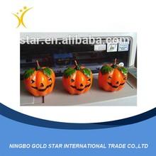 2015 Hot Sale China decoration Promotion gift Halloween Plastic Pumpkin