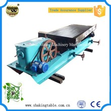 LY2100 Wet Find Sand Shake Table Separation