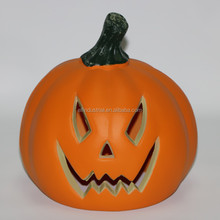 Craft Wholesale Party Decoration Plastic Artificial Pumpkins with LED Light