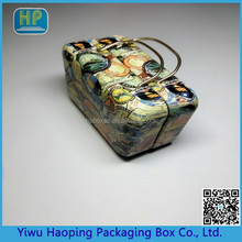 Most Popular Good Grade Candy Tin Case With Handle ;Money Storage Metal Cans;Mini Gift Tin Box