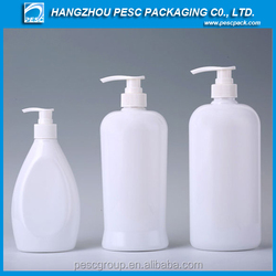 Popular Cosmetic PET bottle for shampoo and shower gel packaging for sale