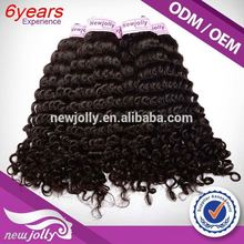 Unprocessed good quality brazilian hair attachment,New hair styles Brazilian Human Hair Weave Jerry Curl