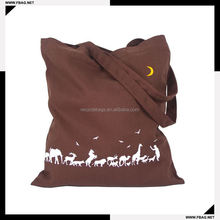 100% QC Eco-friendly promotional packaging cotton bag