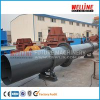 silica sand drum dryer/silica sand drying equipment/silica sand dryer machine for sale