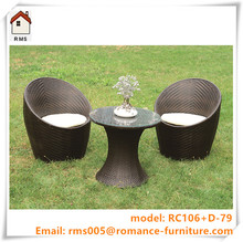 2015 New Design round sectional rattan outdoor furniture garden furniture RC106+D-79