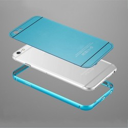 2015 Metal Aluminum Bumper 0.5MM Thin Brushed Hard case for iphone 6 4.7 plus 5.5 Luxury 100% Metal Hard back cover for iphone 6
