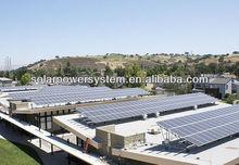 6000W Renewable energy portable solar panel system