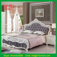 Latest design soft modern furniture elegant full size luxury soft bed