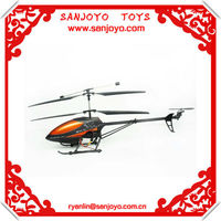 gyroscope upgrade version helicopter 3.5CH helicopter rc w / LED metal-frame
