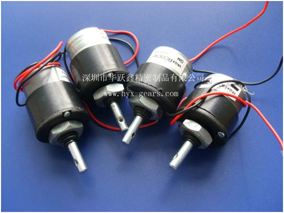 Small Geared Electric Motors From Shenzhen Huayuexin