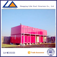 Customized Modern Container Office And Exterior Decoration