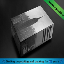 customized promotional artworks or gift packing paper box