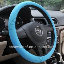 New colorful silicone steering wheel cover /car steering wheel cover for bmw, benz, vw, ford car accessories