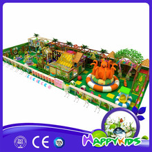 Used indoor playground equipment for sale, children indoor electric soft play equipment