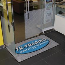 Commercial Modern Entrance Mat with Custom Designs