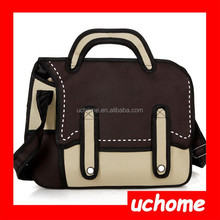 UCHOME Best selling fashion 3d cartoon bags/3d shoulder bag/3d comic bag