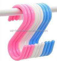 Custom Hanging Plastic S hook convenient hook