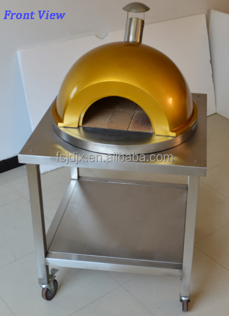 Outdoor Living Stainless Steel Wood Fired Pizza Oven Pizza Maker View Outdoo