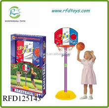 Plastic basketball stands toy for kids,high quality basketball stand toys
