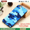 zte max phone case new arrival full covered camouflage camo TPU phone case for iphone 5 5S mobile phone back cover for iphone 5